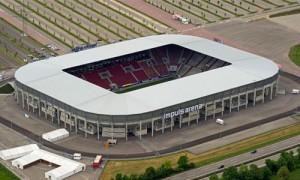 Impuls-Arena hieß das Stadion bis 2011