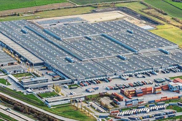 BMW-Logistik-Zentrum in Dingolfing