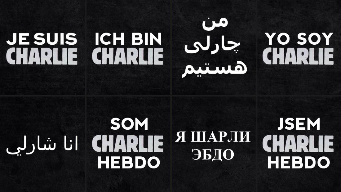 Je suis Charlie: Solidarität mit den Terror-Opfern
