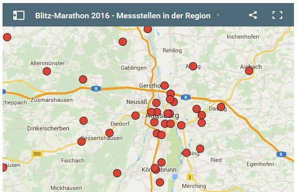 Blitzer-Marathon 2016