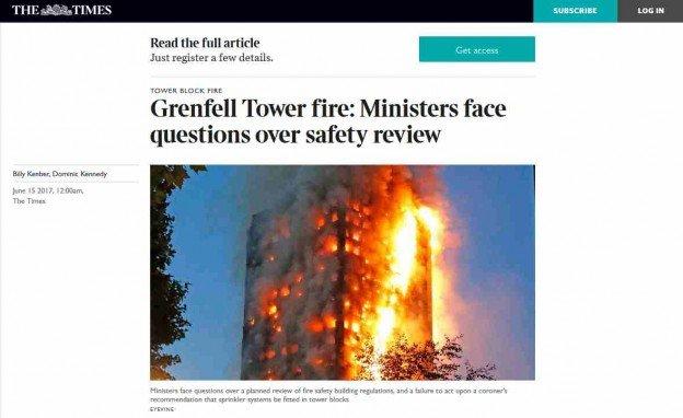 Grenfell-Katastrophe