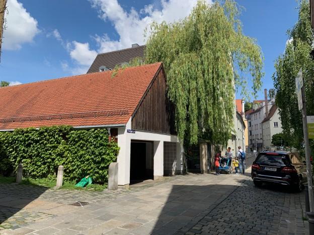 EElektro-Autos haben schlechte Chancen in der Augsburger Altstadt